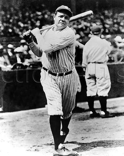 "Babe ""Herman"" Ruth of the New York Yankees Photo: Panworld Sports/Icon/Action Plus..babe ruth baseball"