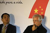 SÃO PAULO, SP, 09.09.2019 - POLITICA-SP - Embaixador Luiz Augusto de Castro Neves, Presidente do Conselho Empresarial Brasil-China (CEBC), participa da Conferência Anual do Conselho Empresarial Brasil-China (CEBC), no Hotel Renaissance, no Bairro do Jardins em São Paulo, nesta segunda-feira, 9. (Foto Charles Sholl/Brazil Photo Press/Folhapress)