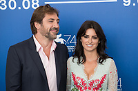 "Penelope Cruz, Javier Bardem at the ""Loving Pablo"" photocall, 74th Venice Film Festival in Italy on 6 September 2017.<br /> <br /> Photo: Kristina Afanasyeva/Featureflash/SilverHub<br /> 0208 004 5359<br /> sales@silverhubmedia.com"