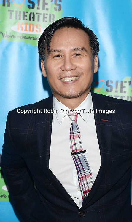 BD Wong attends Rosie O'Donnell's 11th Annual Rosie's Theater Kids Gala on September 22, 2014 at The New York Marriott Marquis in New York City. <br /> <br /> photo by Robin Platzer/Twin Images<br />  <br /> phone number 212-935-0770