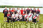 The Workmens Rowing club rowers at the Killarney Regatta on Sunday