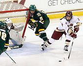 Kristen Olychuck (Vermont - 35), Shannon Bellefeuille (Vermont - 25), Caitlin Walsh (BC - 11) - The University of Vermont Catamounts defeated the Boston College Eagles 5-1 on Saturday, November 7, 2009, at Conte Forum in Chestnut Hill, Massachusetts.