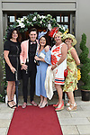 Kim Kennedy, Chris Sugrue, Tadhg Fleming, Maureen Fleming and Grainne Crowley from Kenmare  pictured at the Killarney Apres Races party in The Brehon Hotel, Killarney on Thursday night.<br /> Photo: Don MacMonagle<br /> <br /> repro free photo<br /> further info: Aoife O'Donoghue aoife.odonoghue@gleneaglehotel.com
