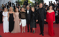 Elodie Bouchez, Sandrine Kiberlain, Isabelle Huppert, Catherine Deneuve, Emmanuelle Beart, Juliette Binoche &amp; Lambert Wilson at the premiere for &quot;The Killing of a Sacred Deer&quot; at the 70th Festival de Cannes, Cannes, France. 22 May 2017<br /> Picture: Paul Smith/Featureflash/SilverHub 0208 004 5359 sales@silverhubmedia.com