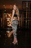 Paula Labaredas<br /> at dinner at the Sofitel, Beverly Hills, CA 09-12-14<br /> David Edwards/DailyCeleb.com 818-249-4998
