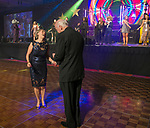 University of Nevada President Marc Johnson and wife Dr. Karen Penner-Johnson dance during the 10th Annual Blue Tie Ball at the Peppermill Resort Spa Casino in Reno, NV on Friday night, Feb. 1, 2019.