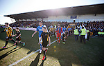 Rangers and East Fife emerge for battle at New Bayview