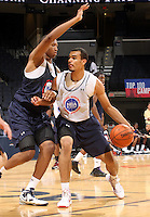 Perry Ellis at the NBPA Top100 camp June 17, 2010 at the John Paul Jones Arena in Charlottesville, VA. Visit www.nbpatop100.blogspot.com for more photos. (Photo © Andrew Shurtleff)