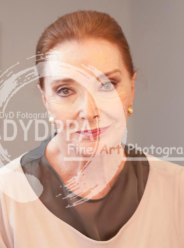13/07/2012. Madrid Spain. Royal Theatre.  Spanish actress Nuria Espert.  (c) Eduardo Dieguez/ DyD fotografos