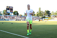 Cary, North Carolina  - Saturday August 05, 2017: Beverly Yanez prior to a regular season National Women's Soccer League (NWSL) match between the North Carolina Courage and the Seattle Reign FC at Sahlen's Stadium at WakeMed Soccer Park. The Courage won the game 1-0.