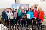 Listowel Tidy Town Awards: Pictured at the Listowel, Tidy Town Awards prize giving event at the Listowel Family Resource centre on Thursday night last were residents of Ashfield Estate who won the Best Large Estate award.
