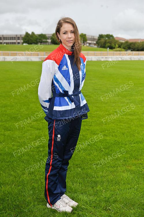 GB Gymnastics Team Announcement Loughborough University 4.7.12.Francesca Jones