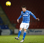 St Johnstone v Kilmarnock....09.01.16  Scottish Cup  McDiarmid Park, Perth<br /> Chris Millar<br /> Picture by Graeme Hart.<br /> Copyright Perthshire Picture Agency<br /> Tel: 01738 623350  Mobile: 07990 594431