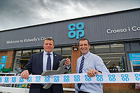L-R Local Councilor Andrew Jenkins and store manager Anthony Thorne