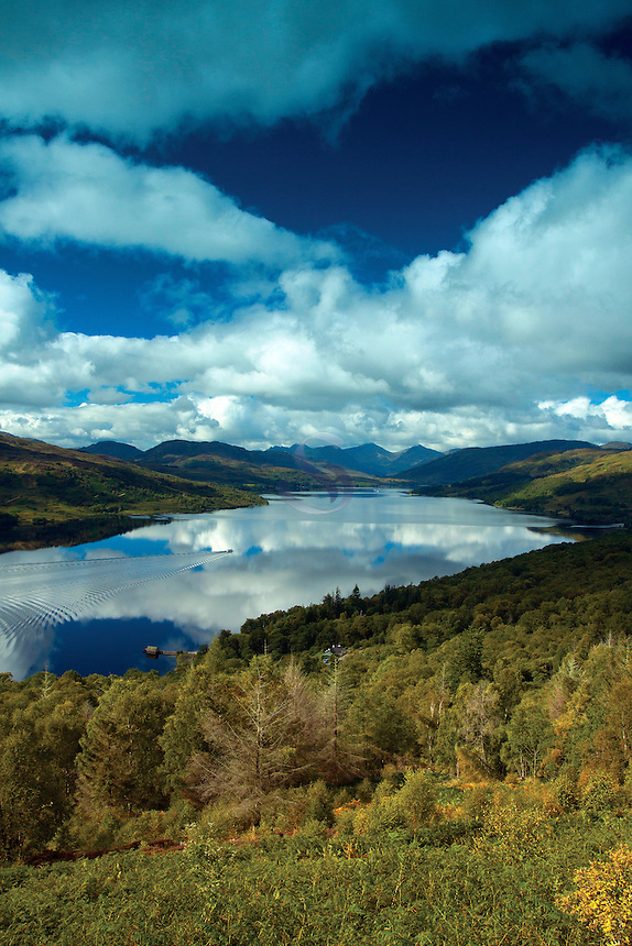 The Arrochar Alps and Loch Katrine, Loch Lomond and the Trossachs National Park, Stirlingshire