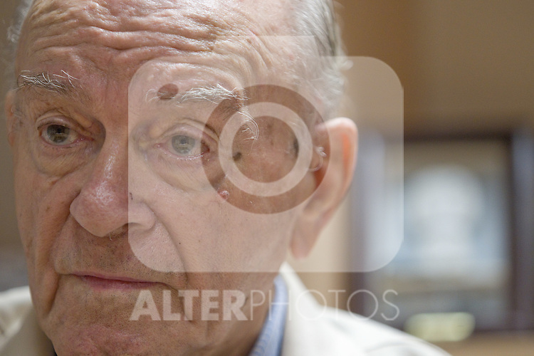 Real Madrid's honor president and former Legend Alfredo Di Stefano during inteview. October 11,2010. (ALTERPHOTOS/Alvaro Hernandez)