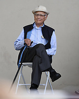 WEST PALM BEACH FL - NOVEMBER 3: Norman Lear during the Bring It Home campaign rally at Meyer Amphitheater on November 3, 2018 in West Palm Beach, Florida. <br /> CAP/MPI04<br /> &copy;MPI04/Capital Pictures