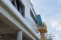 Boathouse at Canal Dock Phase II   State Project #92-570/92-674 Construction Progress Photo Documentation No. 13 on 21 Julyl 2017. Image No. 10