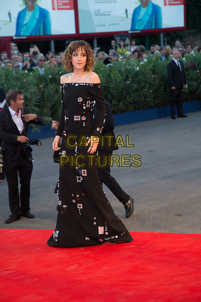 Dakota Johnson at the premiere of A Bigger Splash at the 2015 Venice Film Festival.<br /> September 6, 2015  Venice, Italy<br /> Picture: Kristina AfanasyevaCAP/KA<br /> &copy;Kristina Afanasyeva/Capital Pictures