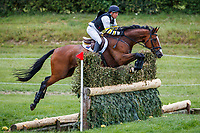 AUS-Sam Griffiths rides Mornington during the Cross Country for the CCI3*-S Section A. 2019 GBR-Barbury Castle International Horse Trial. Wiltshire, Great Britain. Saturday 6 July. Copyright Photo: Libby Law Photography