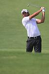 Dubai World Championship Golf. Earth Course,.Jumeirah Golf Estate, Dubai, U.A.E...Gareth Maybin shooting into the 5th during the third round of the Dubai World Golf championship..Photo: Fran Caffrey/www.golffile.ie...