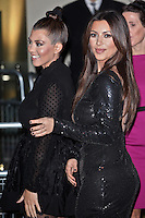 November 8th, 2012 - London..Kim and Kourtney Kardashian Promote Kardashian Kollection for Dorothy Perkins in London.<br />