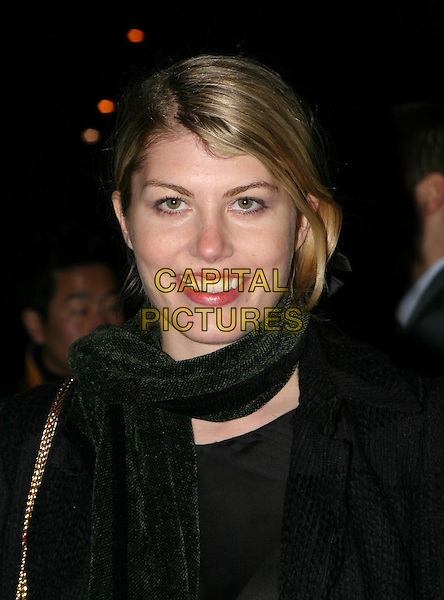 MEREDITH OSTROM.The Saatchi Gallery's first anniversary party at County Hall which coincides with the launch of new exhibition New Blood.23 March 2004.headshot, portrait, girlfriend of nick rhodes.www.capitalpictures.com.sales@capitalpictures.com.© Capital Pictures.