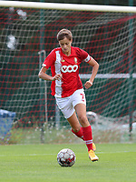 Standard's Maurane Marinucci (7) with the ball during a female soccer game between Standard Femina de Liege and Oud Heverlee Leuven on the second matchday of the 2020 - 2021 season of Belgian Scooore Women s SuperLeague , saturday 5 th of September 2020  in Angleur , Belgium . PHOTO SPORTPIX.BE | SPP | SEVIL OKTEM