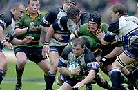 Photo. © Peter Spurrier/Intersport Images.18/04/2004  - 2004 Zurich Premiership Rugby - Northampton Saints v Bath Rugby... ..