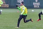 12.01.2018, Trainingsgelaende, Bremen, GER, 1.FBL, Training SV Werder Bremen<br /> <br /> im Bild<br /> Ishak Belfodil (Werder Bremen #29), <br /> <br /> Foto &copy; nordphoto / Ewert