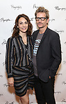 Annie Parisse and Paul Sparks attends the Opening Night Performance of the Playwrights Horizons world premiere production of 'Log Cabin' on June 25, 2018 at Playwrights Horizons in New York City.