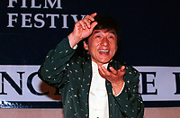 HK actor and director Jackie Chan  speak about his work, in a press conference  before receiving a Special Grand Prize of the Americas, from <br /> Montreal World Film Festival's President &amp; founder ; <br /> Serge Losique, Sept 1st , 2001 in Montreal, CANADA.
