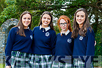 Niamh Walsh, Jennifer Hanafin, Claudia Ward and Michelle Doody, students from Presentation Secondary School, Tralee, who attended their graduation Mass in St. John's Church, Tralee, on Friday last.