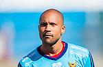 S&ouml;dert&auml;lje 2015-08-01 Fotboll Superettan Assyriska FF - &Ouml;stersunds FK :  <br /> &Ouml;stersunds m&aring;lvakt Aly Keita under lineup inf&ouml;r matchen mellan Assyriska FF och &Ouml;stersunds FK <br /> (Foto: Kenta J&ouml;nsson) Nyckelord:  Assyriska AFF S&ouml;dert&auml;lje Fotbollsarena Superettan &Ouml;stersund &Ouml;FK portr&auml;tt portrait