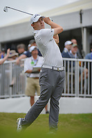 Matt Fitzpatrick (ENG) watches his tee shot on 7 during day 3 of the World Golf Championships, Dell Match Play, Austin Country Club, Austin, Texas. 3/23/2018.<br /> Picture: Golffile | Ken Murray<br /> <br /> <br /> All photo usage must carry mandatory copyright credit (&copy; Golffile | Ken Murray)