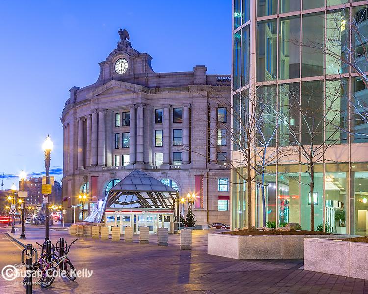 South Station, Boston, Massachusetts, USA