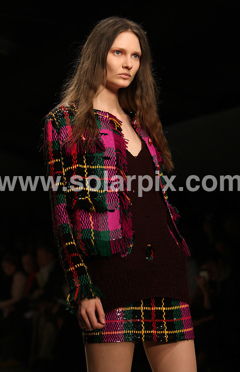 **ALL ROUND PICTURES FROM SOLARPIX.COM**                                             **WORLDWIDE SYNDICATION RIGHTS**                                                                                  Caption:                                                                               This pic: Asish's collection during London Fashion Week  at Somerset House in London, UK  22th February, 2011                                                                  This pic:  Models on the catwalk                                                                                                JOB REF: 12873      MLW       DATE: 22.02.20111                                                           **MUST CREDIT SOLARPIX.COM OR DOUBLE FEE WILL BE CHARGED**                                                                      **MUST AGREE FEE BEFORE ONLINE USAGE**                               **CALL US ON: +34 952 811 768 or LOW RATE FROM UK 0844 617 7637**