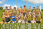 FUN TIME: The Abbeydorney team having a fun time at the Hurling blitz at Ardfert on Saturday front l-r: Shane Conway, Alban Stack, Caoimhe Spillane, Kieran Sheehan, Shane Donovan, Ruairi? Donovan, Kieran Keane, Jack Sheehan and Mary O'Mahony Back l-r: Jamie Herbert, Shane Byrne, Aiden Leahy, Keith O'Connor, Cillian Spillane, Niall O'Mahony, Dean O'Brien, Eoin McCarthy and Sean Holden.
