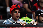 Atletico de Madrid´s Griezmann during FIBA Basketball World Cup Spain 2014 final match between United States and Serbia at `Palacio de los deportes´ stadium in Madrid, Spain. September 14, 2014. (ALTERPHOTOSVictor Blanco)