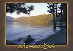 Pinecrest Lake 4x6 postcard