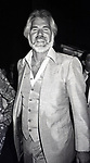 Kenny Rogers  attends a Broadway Show on July 1, 1982 in New York City.
