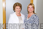 Rena Kennelly and Cllr Gillian Wharton Slattery at the opening of the Tralee Community Nursing Unit on Friday.
