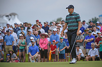 Jordan Spieth (USA) watches his long putt on 4 during round 3 of the AT&amp;T Byron Nelson, Trinity Forest Golf Club, at Dallas, Texas, USA. 5/19/2018.<br /> Picture: Golffile | Ken Murray<br /> <br /> <br /> All photo usage must carry mandatory copyright credit (&copy; Golffile | Ken Murray)