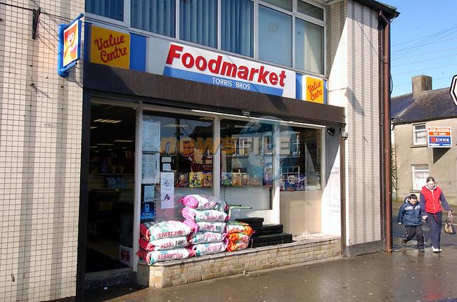 Torris shop.Picture Fran Caffrey Newsfile