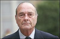 Jacques CHIRAC - Visite du Premier Ministre britannique au Palais de l'ElysÈe. #
