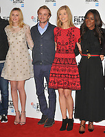 Laura Carmichael, Tom Felton, Rosamund Pike and Amma Asante at the 60th BFI London Film Festival &quot;A United Kingdom&quot; opening gala press conference and photocall, The May Fair Hotel, Stratton Street, London, England, UK, on Wednesday 05 October 2016.<br /> CAP/CAN<br /> &copy;CAN/Capital Pictures /MediaPunch ***NORTH AND SOUTH AMERICAS ONLY***