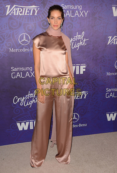 23 August 2014 - West Hollywood, California - Dawn Olivieri. Arrivals for Variety and Women in Film's annual Pre-Emmy Celebration held the at Gracias Madre in West Hollywood, Ca.  <br /> CAP/ADM/BT<br /> &copy;Birdie Thompson/AdMedia/Capital Pictures