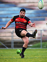Action from the 2017 National Police Rugby Tournament rugby union match between Bay of Plenty and Canterbury at Rotorua International Stadium in Rotorua, New Zealand on Friday, 1 September 2017. Photo: Dave Lintott / lintottphoto.co.nz