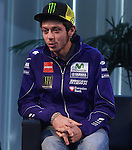 18.01.2016, Telefonica tower, Barcelona, Spain. Moto GP. 2016 Yamaha Racing global press conference. Picture show Valentino Rosi , Movistar Yamaha Moto GP rider,Yamaha motor racing