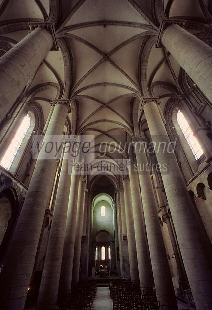 Europe/France/Limousin/19/Corrèze/Brive-la-Gaillarde : Eglise Saint-Martin - Nef du XIV° siècle
